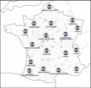 Carte réseau Ready4Digital avril 2021