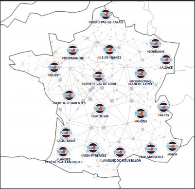 Carte réseau R4D Mai 2021